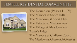South Jersey Home Builders featured community The Meadows At Greenwich Crossing.